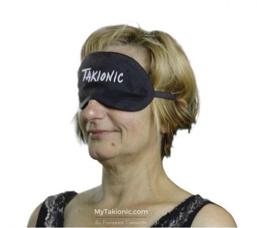 maschera per occhi takionic