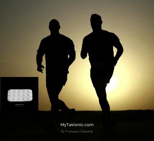 uomini che corrono